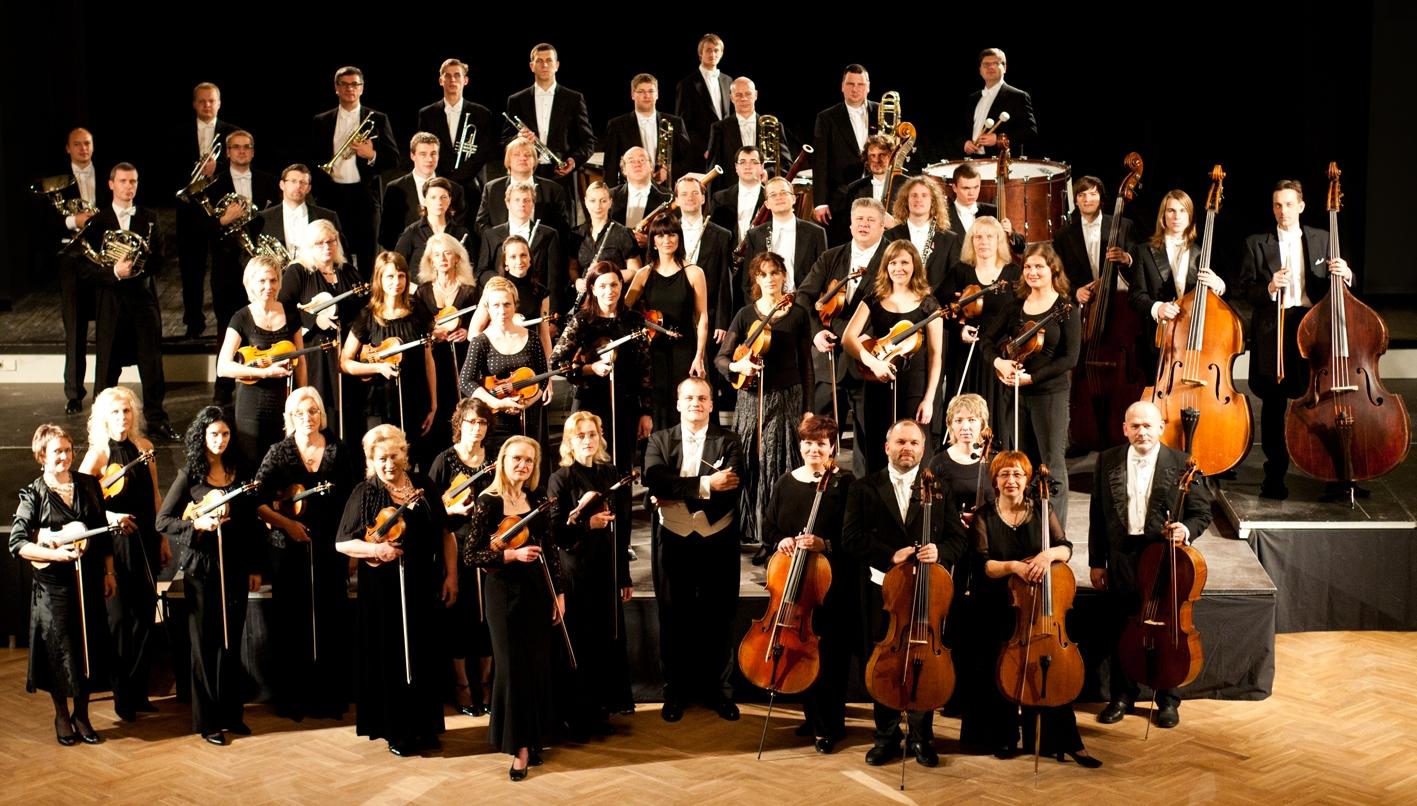 ней впервые симфонический оркестр картинка полного оркестра день рождения вот