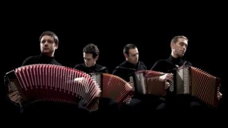 """Akordeonistu kvartets """"Dancas Ocultas"""" Rīgā"""