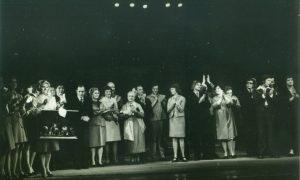 Slavenajam dramaturgam Harijam Gulbim 90.dzimšanas diena