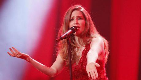 """Laura Rizzotto ar """"Funny girl"""" neiekļūst Eirovīzijas finālā"""