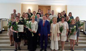 Ministru prezidents: šovasar bija skaistākie Dziesmu un deju svētki