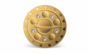 """Latvijas Banka izlaiž kolekcijas monētu """"Zelta saktas. Burbuļsakta"""""""