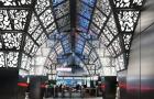 """Latvijas arhitektu projektētā metro stacija """"Novoperedelkino"""" atzīta par skaistāko jaunizbuvēto staciju Maskavā"""