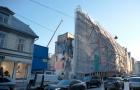Pabeigta Jaunā Rīgas teātra jaunā apjoma pāļu iestrāde, uzsākta pazemes darbnīcu izbūve