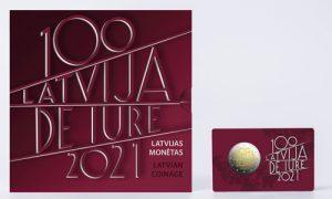Latvijas Banka laiž klajā Latvijas atzīšanas de iure 100. gadadienai veltītu 2 eiro piemiņas monētu