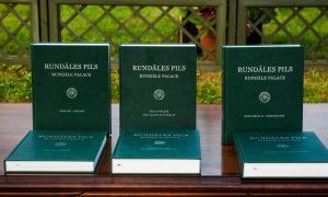 """Rundāles pils muzejs izdevis monogrāfiju """"Rundāles pils III. Restaurācija"""""""